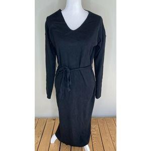 NWT TEA 'N ROSE Ribbed V Neck Sweater Dress S